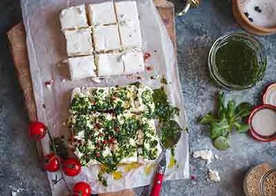 Tofu met chili zout