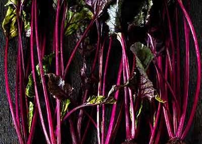 Geroosterde rode bietjes salade